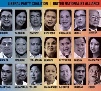 2013 Senatorial Candidates