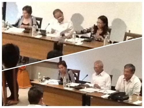 Timbangan panelists